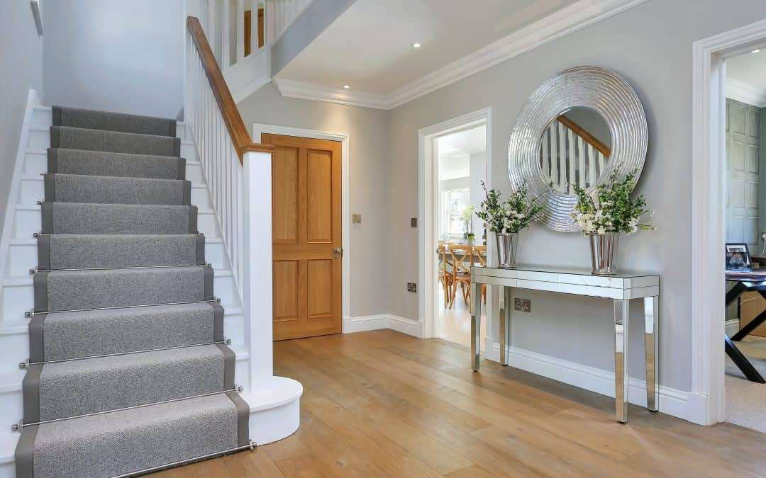 10 ways to make your hallway and staircase appear bigger without extending your property