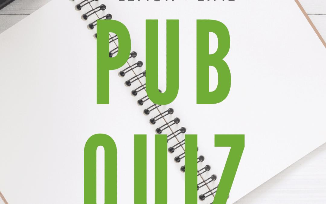 Pub Quiz!