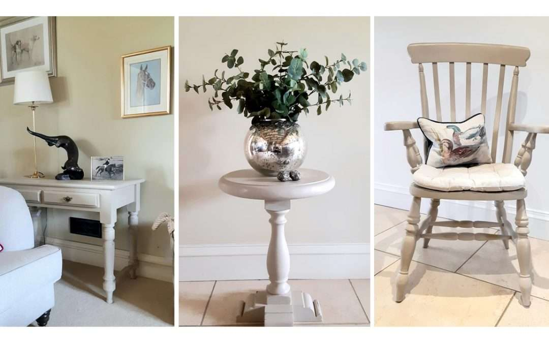 Why not have a go at painting furniture?
