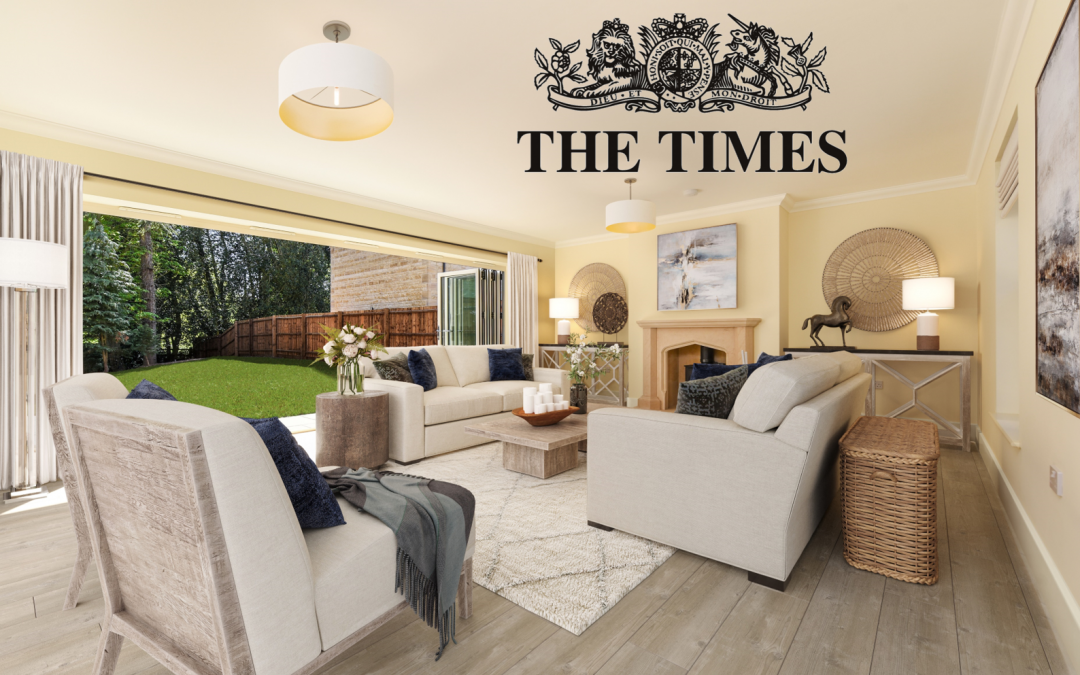 The Times feature: Home staging tips to help you to sell your property online
