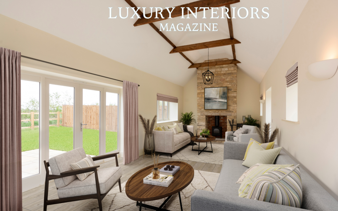 Luxury Interiors Magazine feature: Home staging company uses new virtual service