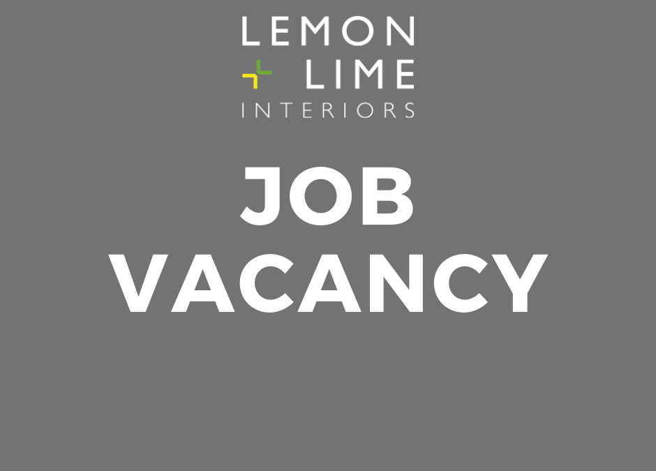 Job Vacancy – Design Stylist